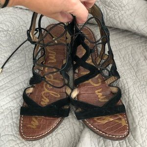 Size 8.5 Sam Edelman gladiator sandals